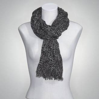Jones New York Mini Leopard Print Scarf