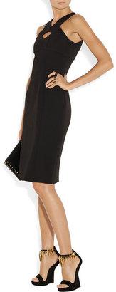 Burberry Cutout crepe dress