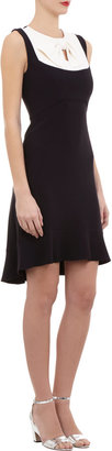 Giulietta Contrast-yoke Sleeveless Dress