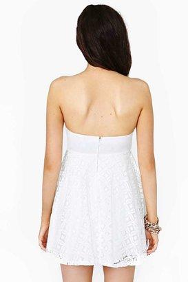 Nasty Gal Daisy Fade Dress