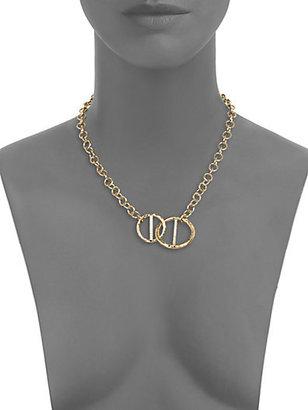 Kelly Wearstler Regent Chain Link Pendant Necklace