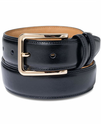 Club Room Gold-Buckle Dress Belt $39.50 thestylecure.com