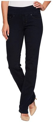 Jag Jeans Peri Pull-On Denim Straight Leg Jeans (After Midnight) Women's Jeans