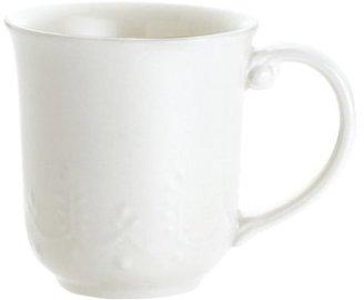 Paula Deen Set of 4 Whitaker Mugs, Vanilla