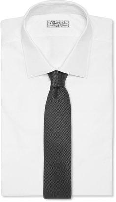 Raf Simons Woven-Silk Tie