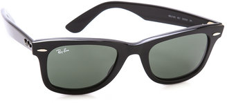 Ray-Ban Original Wayfarer Sunglasses $150 thestylecure.com
