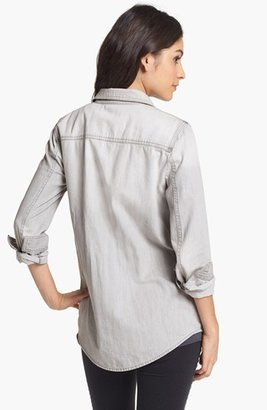 BP Boyfriend Chambray Shirt (Juniors)