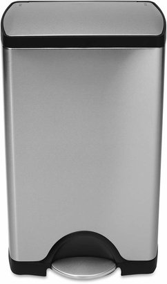 Simplehuman 38-Liter Deluxe Rectangular Step Trash Can