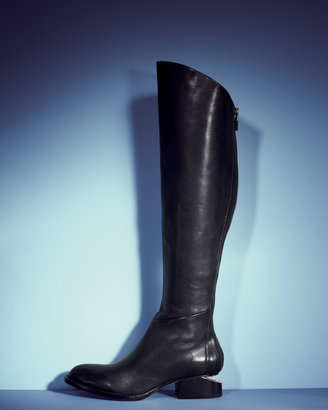 Alexander Wang Sigrid Back-Zip Knee Boot