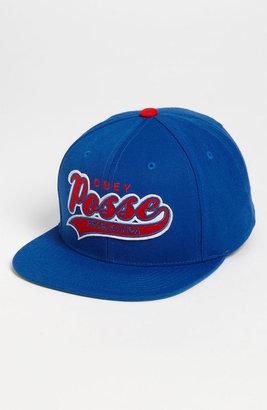 Obey 'Original on Deck' Snapback Baseball Cap