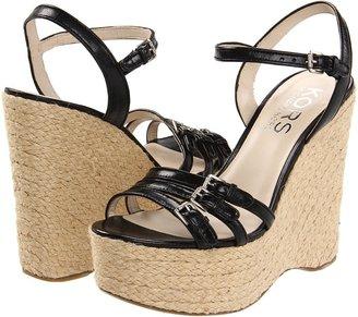 KORS Jacinda (Black) - Footwear