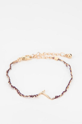 Urban Outfitters Initial Charm Bracelet
