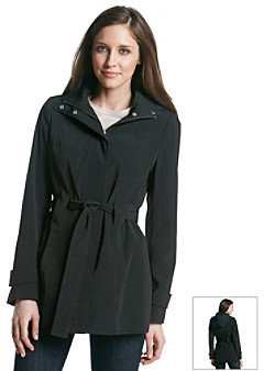 Calvin Klein Single Breasted Active Trench Coat