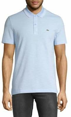 Lacoste Classic Short-Sleeve Cotton Polo