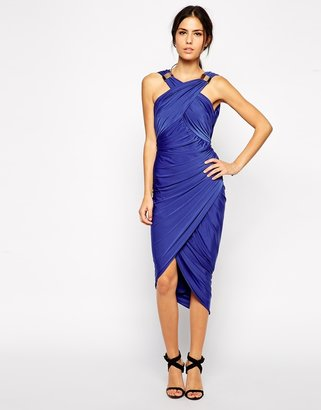 Forever Unique Mika Drape Dress