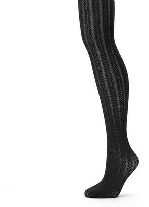 Apt. 9 raised chevron control-top tights
