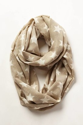 Anthropologie Morning Stars Infinity Scarf