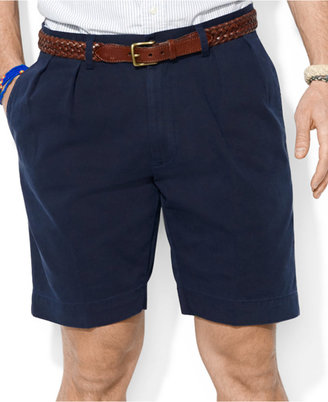Polo Ralph Lauren Men's Core Classic-Fit Pleated Chino Shorts $69.50 thestylecure.com