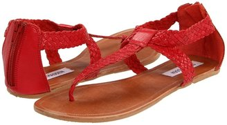 Steve Madden Pressto (Coral Leather) - Footwear