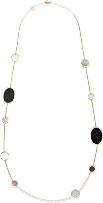 Ippolita Polished Rock Candy Multi-Stone Station Necklace in Jazz, 37""
