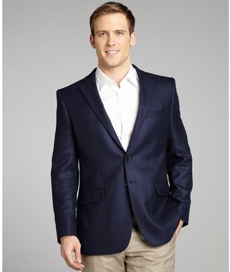 Joseph Abboud navy cashmere 2-button jacket