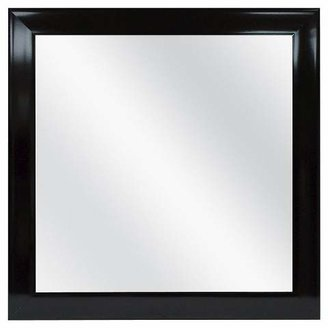 Room Essentials Square Decorative Wall Mirror Black