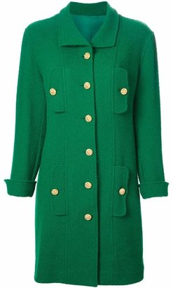 Chanel Pre-Owned single breasted coat