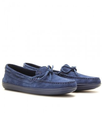 Tod's MARLIN SUEDE LOAFERS