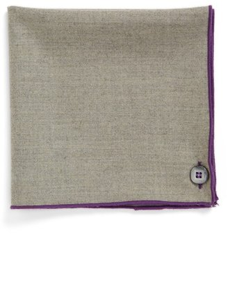 Wilson Armstrong & Wool & Cashmere Pocket Square