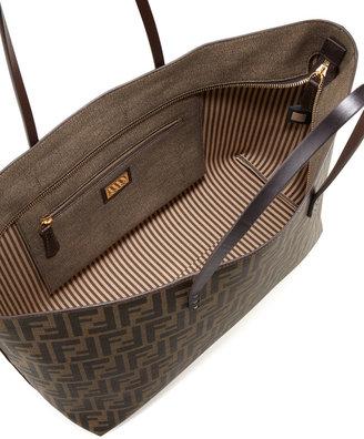 Fendi Zucca Roll Tote Bag