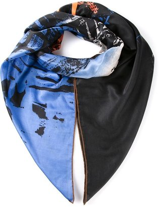 Vivienne Westwood 'Upside Down Piccadilly' scarf