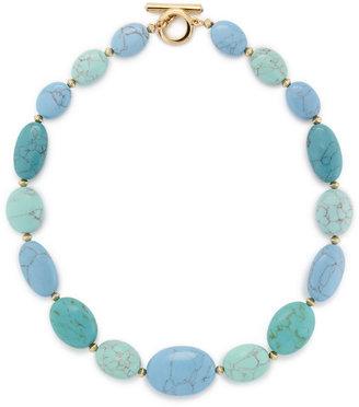 Lauren Ralph Lauren Reconstituted Turquoise Necklace