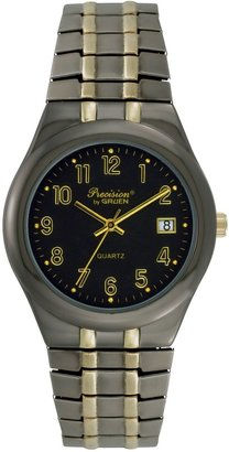 Gruen Precision By Precision by Men's Two Tone Watch