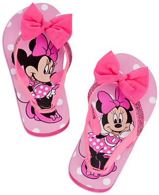 Disney Minnie Mouse Flip Flops for Girls