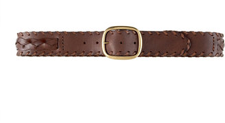 Linea Pelle Braided Inlay Belt