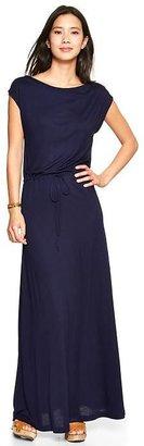 Gap Drawstring maxi dress