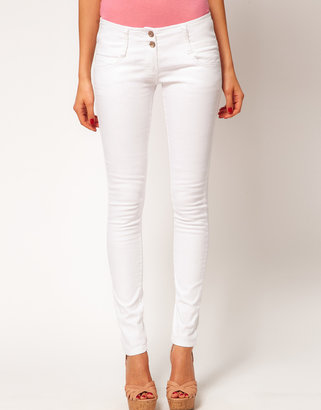 Asos Super Sexy Skinny Jeans in White