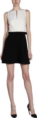 Proenza Schouler Belted Sleeveless A-Line Dress