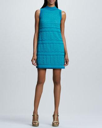 M Missoni Sleeveless Scallop Dress