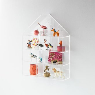 Invisible House Wall Shelf $149 thestylecure.com