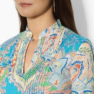 Ralph Lauren Paisley Cotton Tunic