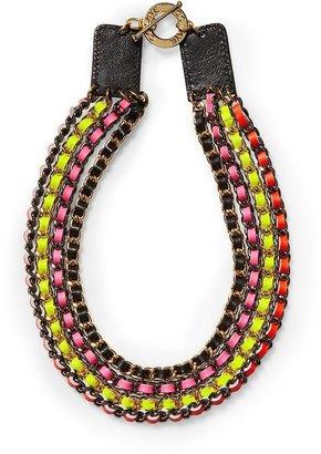 CC Skye Neon Multi Chain Necklace