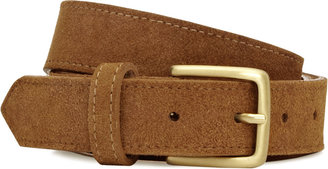 Reiss Windslow SUEDE EMBOSSED BELT