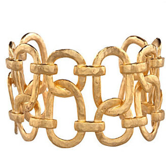 Kenneth Jay Lane Open Links Gold Cuff