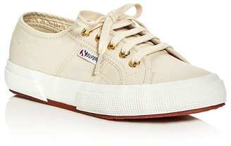 Superga Classic Lace Up Sneakers $65 thestylecure.com