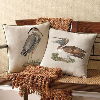 Gump's Louisiana Wildlife Pillows