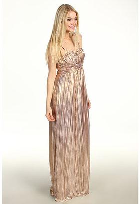 Jessica Simpson Twist Bust Maxi Dress