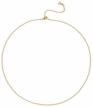 "Temple St. Clair 18K Yellow Gold Ball Necklace Chain/16""-18"""