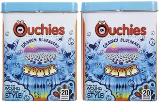 Safety First Ouchies Bandages Groovy Blueberry 4 Boyz - 40 ct