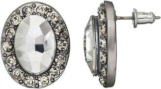 Vera Wang Simply vera oval stud earrings